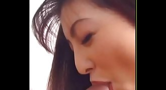 Japanes Blowjob And Cum Swallow From Glass