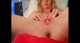 French milf fingering on cam - watch her live at www.AngelzLive.com